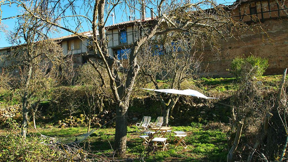 Jardín junto a Villapajar